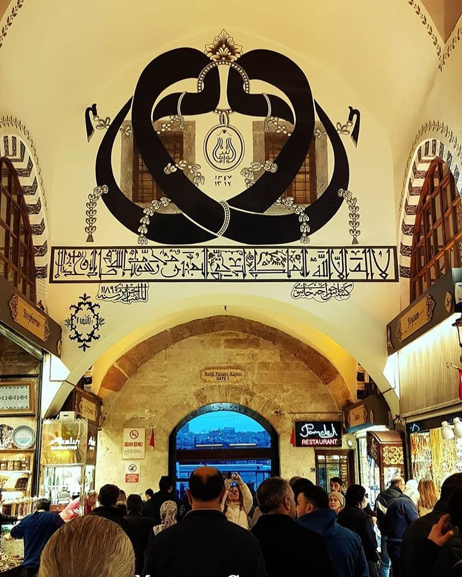 Spice Bazaar and Historical Information Istanbul