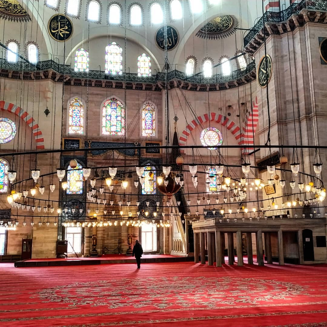 Suleymaniye Mosque Inside